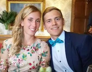 Elise Mertens With Her Boyfriend Robbe Ceyssens