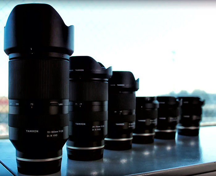 Все объективы Tamron для Sony E