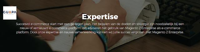 Guapa E-commerce Groningen-Leek-Amsterdam-Eindhoven-Zwolle