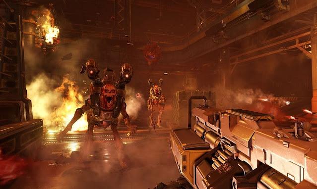 Imagem do Doom 2016