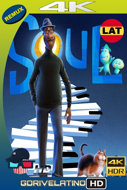 Soul (2020) BDRemux 4K HDR Latino-Ingles MKV