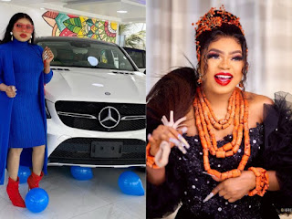 Bobrisky Gifts Himself A Brand New Mercedes Benz Ahead Of His Birthday (WATCH VIDEO)