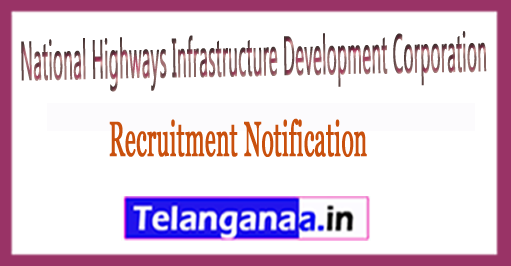 National Highways and Infrastructure Development CorporationNHIDCL Recruitment Notification 2017Last Date 28-02-2017
