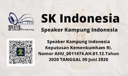 Legalitas Speaker Kampung