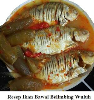 Resep dan Cara Memasak Ikan Bawal Belimbing Wuluh