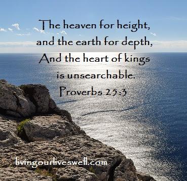 Proverbs 25:3