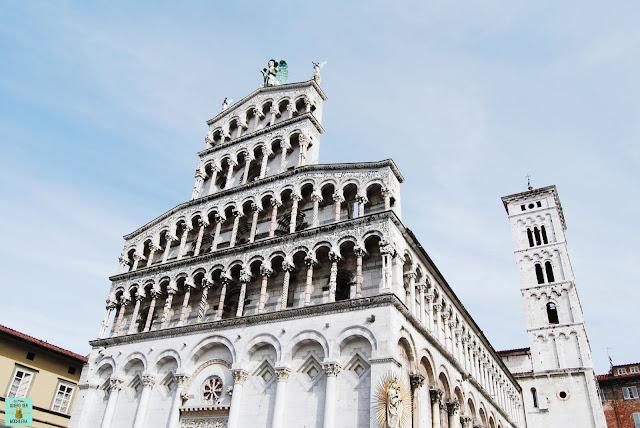 Iglesia de San Michele in Foro en Lucca