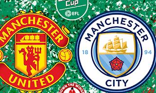 Cara Menonton Live Streaming Manchester United vs Manchester City Carabao Cup Gratis!