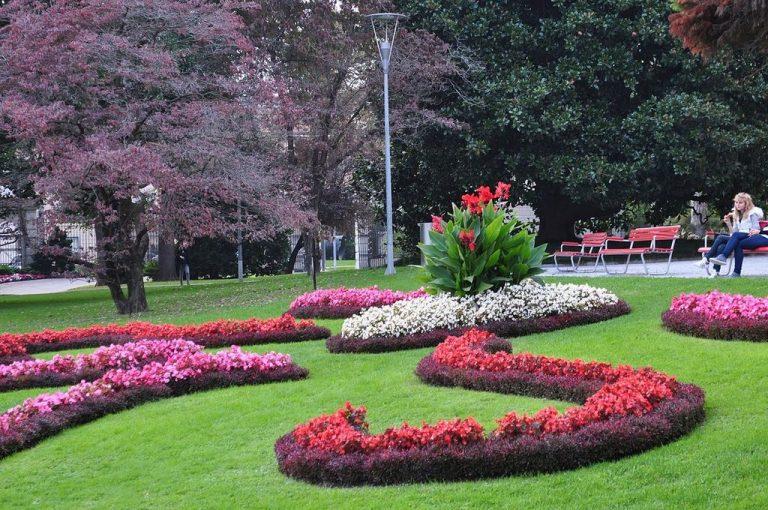 Парк Чивико-Чиани в Лугано, Швейцария