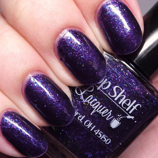 Top Shelf Lacquer Sugar Plum Spritzer