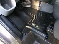 Husky Weatherbeater Floor Liner Drivers Side. Ford Transit
