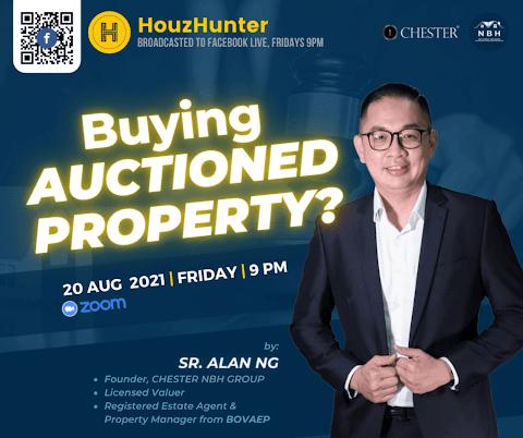HouzHunter: Buying Auctioned Property?