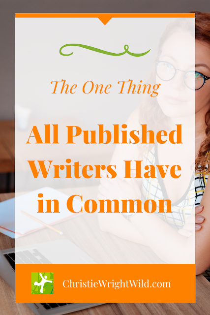 "What do writers and runners have in common? Quite a lot, actually. But what's the one thing all published writers and experienced runners have in common? And it's not ""being published"" either. Once upon a time, they were new to writing (or running)."