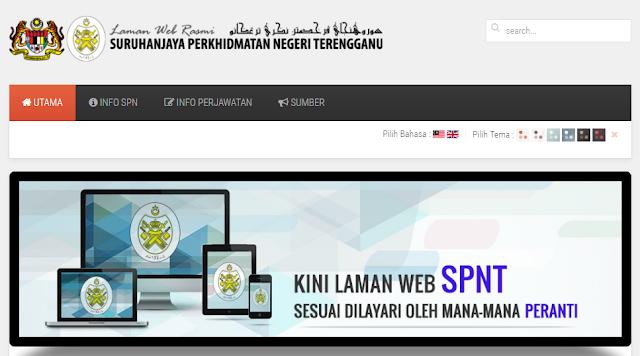 Rasmi - Jawatan Kosong (SPNT) Suruhanjaya Perkhidmatan Negeri Terengganu Terkini 2019