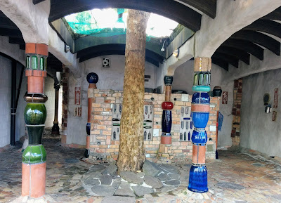 Creates Sew Slow: Hundertwasser Toilets Kawakawa
