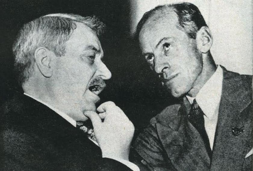 Міллард Тайдінгс з Ерлом Браудером, змонтоване фото