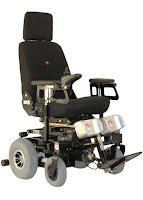 Galaxy AWA Ostrich Electric Wheelchair