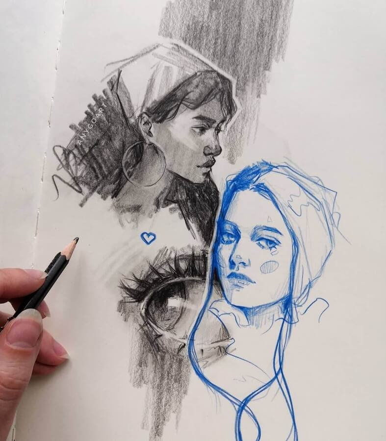10-Drawing-studies-3-Anya-Goart-www-designstack-co