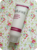murad exfoliating cleanser