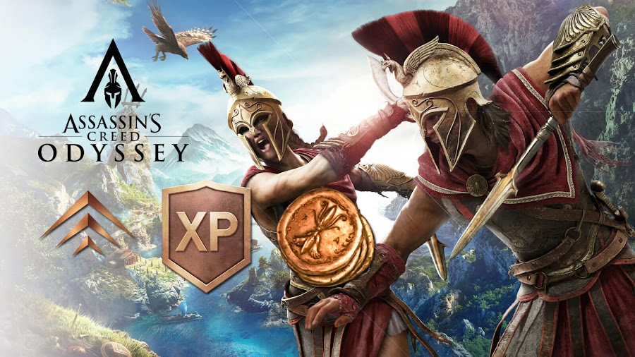 assassins creed odyssey level grinding microtransaction issue