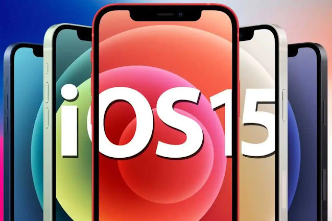 Apple Releases iOS 15 Updates