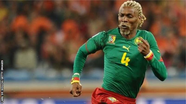 Rigobert Song represented the Indomitable Lions between 1993 and 2010