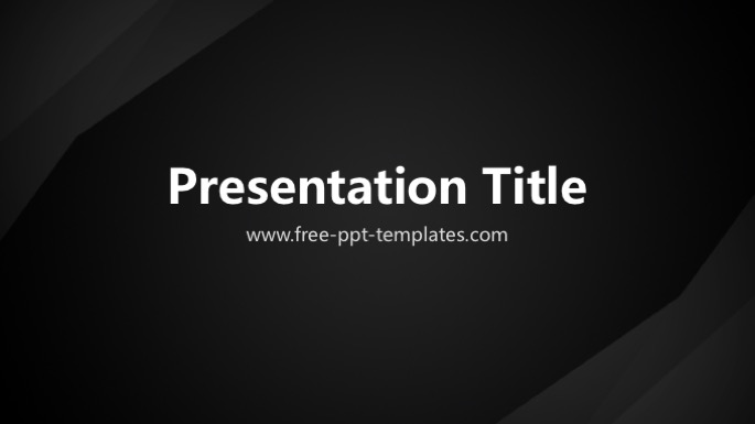 Black powerpoint template toneelgroepblik Choice Image
