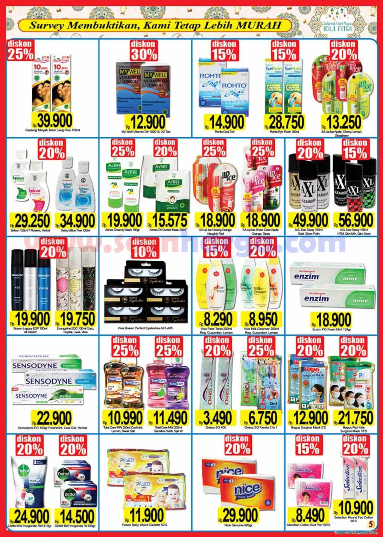 Katalog Promo Naga Pasar Swalayan 25 April - 16 Mei 2021 5
