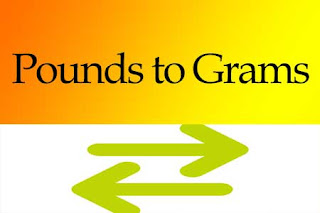 Pounds to Grams