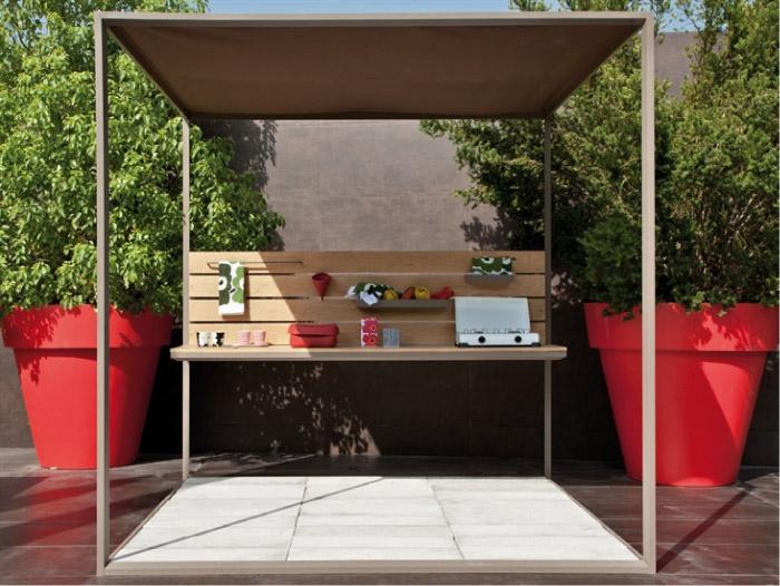 Cucine da esterno | Blog di arredamento e interni - Dettagli Home Decor