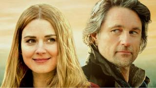 Mel e Jack protagonistas da série Virgin River