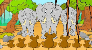 Elefanții și șoarecii: Poveste cu tâlc din Panciatantra
