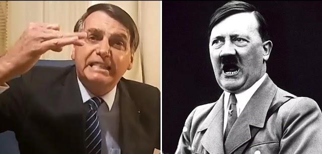 O nazismo cristão e as semelhanças entre Hitler e Bolsonaro