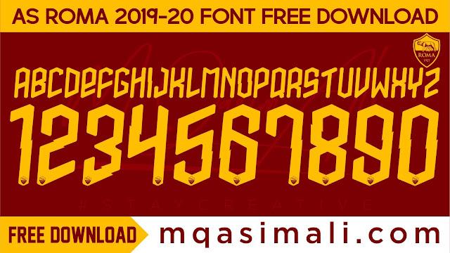 #mqasimali,#staycreative,Free Football Font_AS Roma Font 2019-20 TTF Font Free Download by M Qasim Ali,AS Roma Font 2019-20 TTF Font Free Download,TTF Font Free Download by M Qasim Ali,AS Roma Font 2019-20,Free Football Font