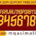 Free Football Font_AS Roma Font 2019-20 TTF Font Free Download by M Qasim Ali
