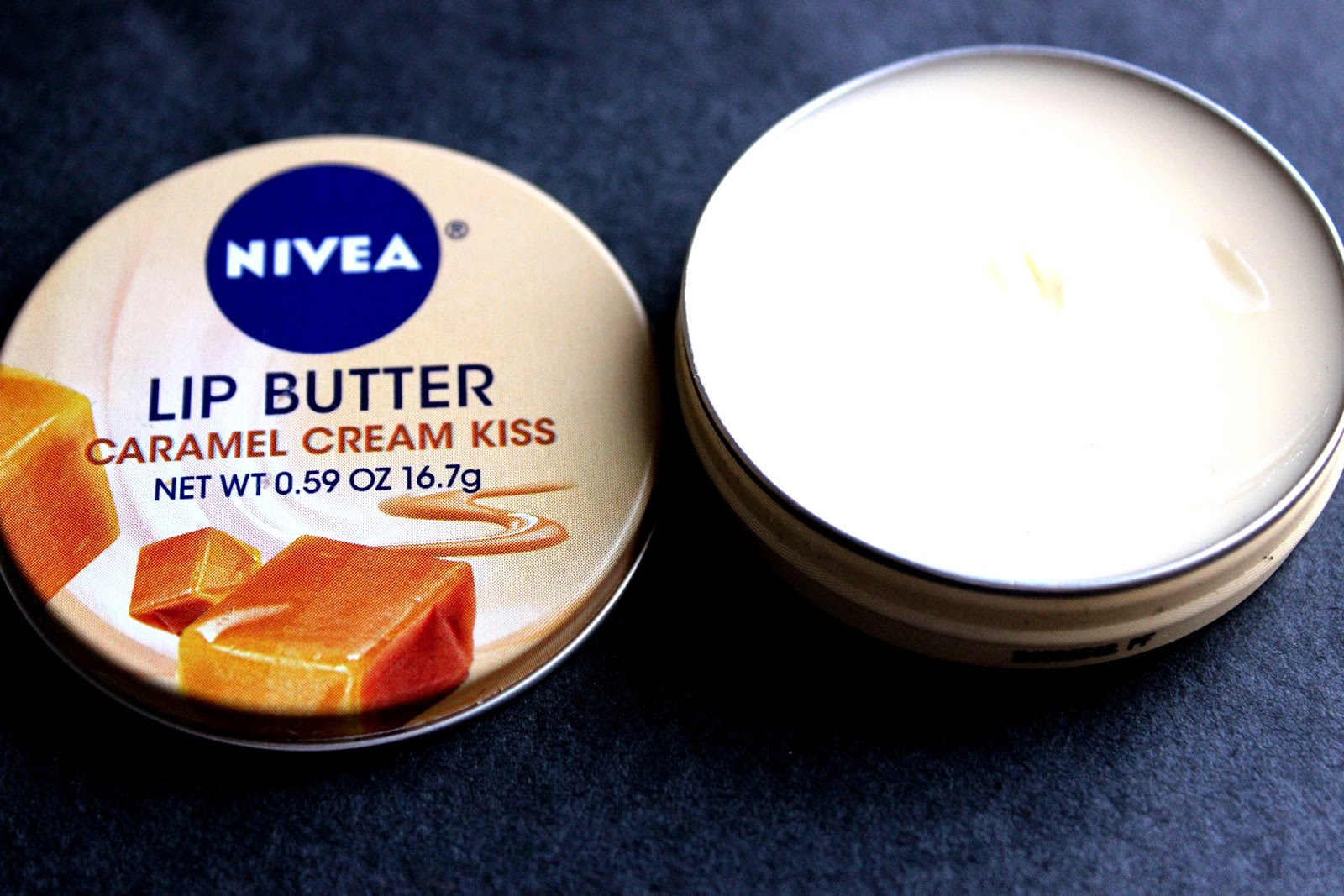 nivea caramel lip butter review