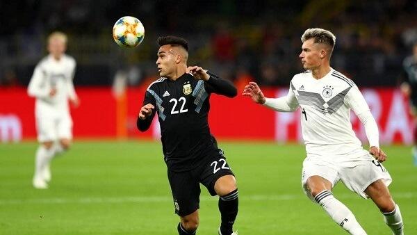 المنتخب الالماني يتعادل مع نظيره الارجنتيني 2-2