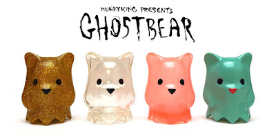 Designer Con 2019 Exclusive Ghostbear Vinyl Figures by Luke Chueh x Munky King