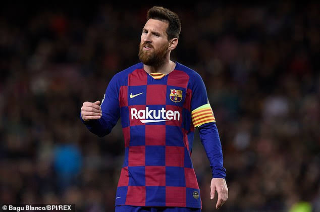 Lionel Messi Set New UCL Record as he mark 700th Barcelona appearance