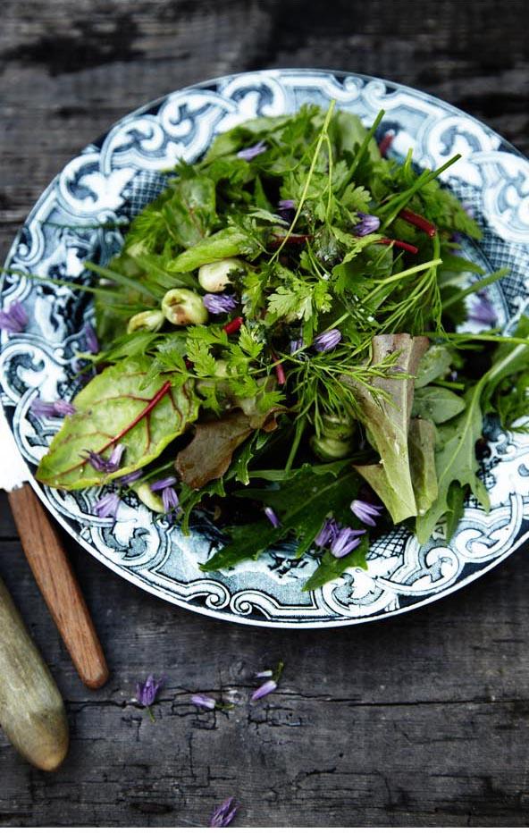Foodieeater: VEGETAR og RAMSLØG, undskyld er det ikke forår?