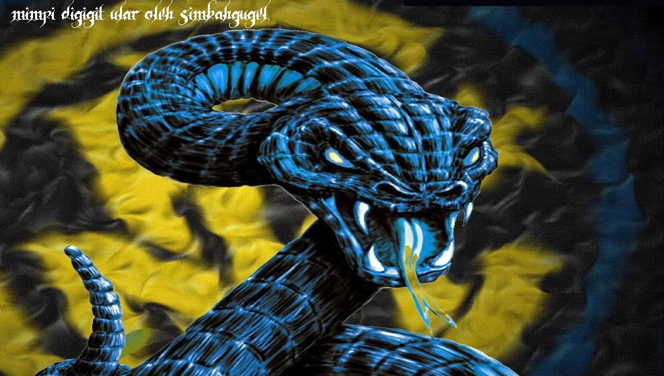 arti mimpi digigit ular
