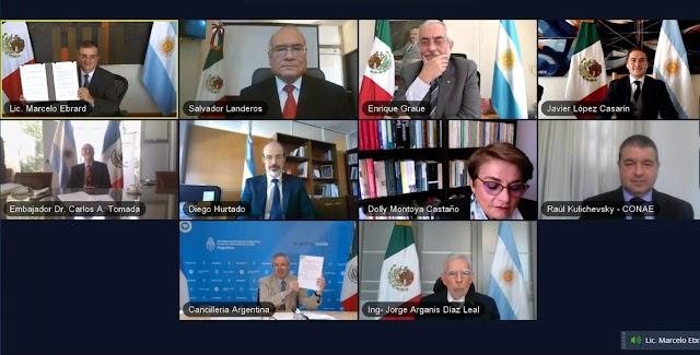 MÉXICO Y ARGENTINA SIENTAN LAS BASES PARA LA CONSTITUCIÓN DE LA AGENCIA LATINOAMERICANA Y CARIBEÑA DEL ESPACIO