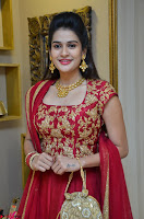 Jenny Honey in Stunning Dark Red Anarkali Dress at Splurge   Divalicious curtain raiser ~ Exclusive Celebrities Galleries 031.JPG