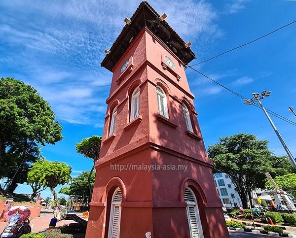 Melaka Clock Tower Red Square