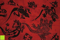 Gecko: Ca 60 Modelle Sarong Pareo Wickelrock Strandtuch Tuch Wickeltuch Handtuch Bunte Sommer Muster Set Gratis Schnalle Schließe