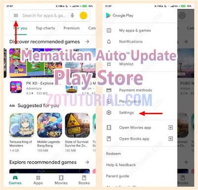 Cara Mematikan Update Otomatis Play Store Agar Tidak Boros Kuota