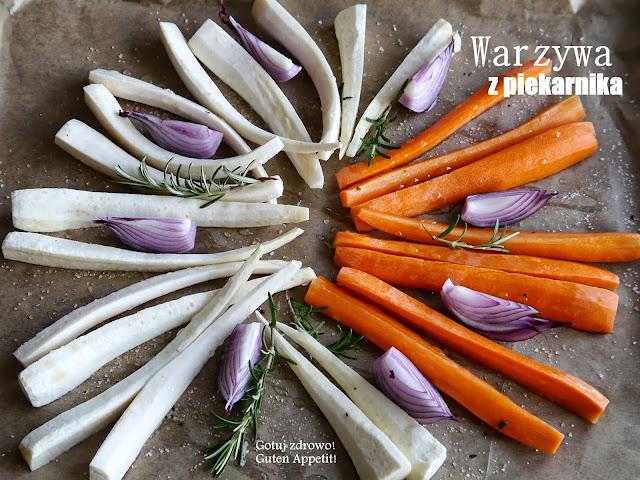 Warzywa korzeniowe z piekarnika - Czytaj więcej »