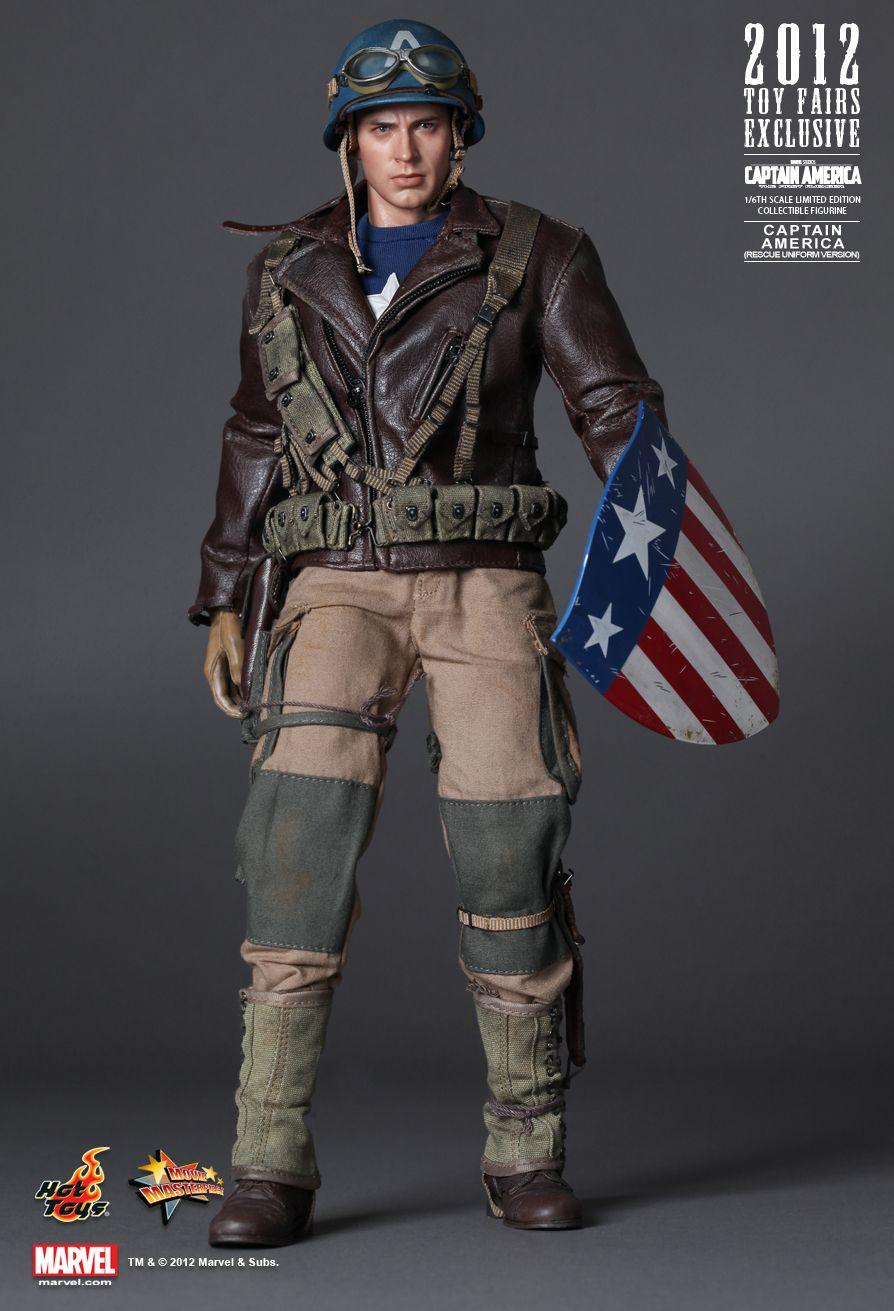 My Love 4 Toys Captain America Rescue Uniform Version
