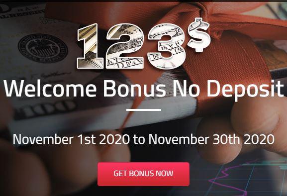 VistaForex $123 Forex No Deposit Bonus