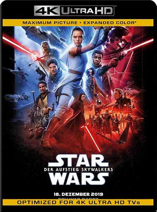 Star Wars: Episodio IX – El ascenso de Skywalker (2019) 4K 2160p UHD [HDR] Latino [GoogleDrive]